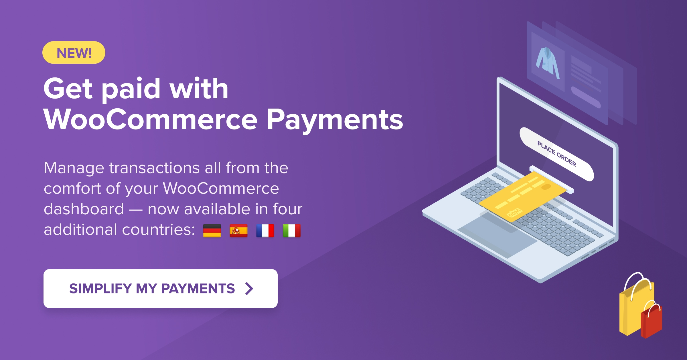 Get WooCommerce Payments